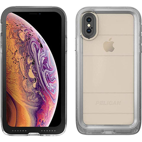 Pelican Marine Waterproof Case for The Apple iPhone Xs Max - Clear