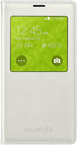 Samsung Galaxy S5 S View Cover White