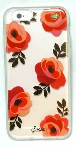 Sonix Clear Coat Case for iPhone 6S / 6 - Rosalie -Flower Rose