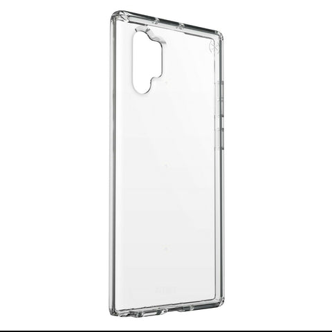 Speck Presidio Stay Clear Samsung Galaxy Note 10 Plus Case, Clear/Clear