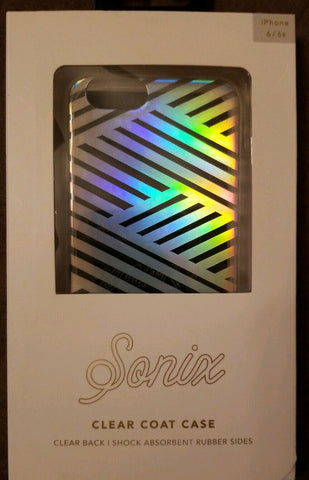 Sonix Case For Iphone 6/6s Clear Coat Case Striped Design