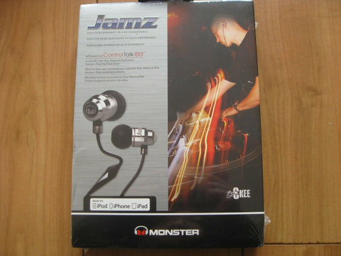 Monster Jamz in-ear earphones / headphones