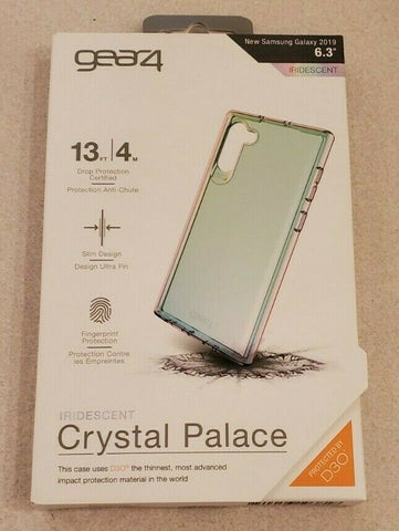 Gear4 D3O Case for Samsung Galaxy Note 10 Crystal Palace Case Iridescent