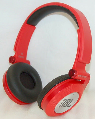 JBL E40BT High-Performance Wireless On-Ear- Red