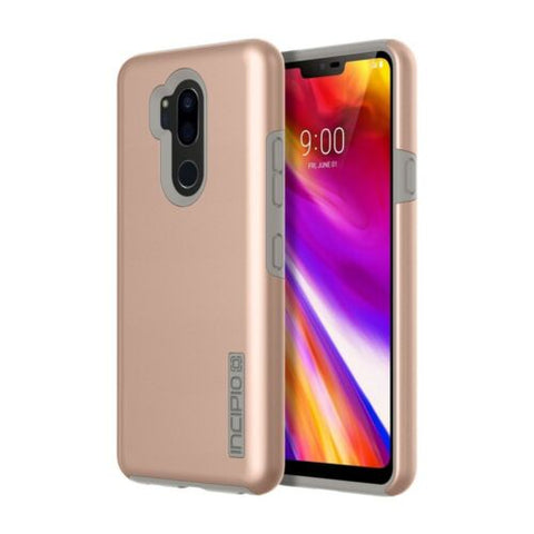 Incipio DualPro Case Compatible with LG G8 ThinQ - Rose Gold
