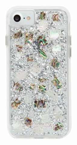 Case Mate Apple iphone 7/8 Plus Karat Case Mother of Pearl