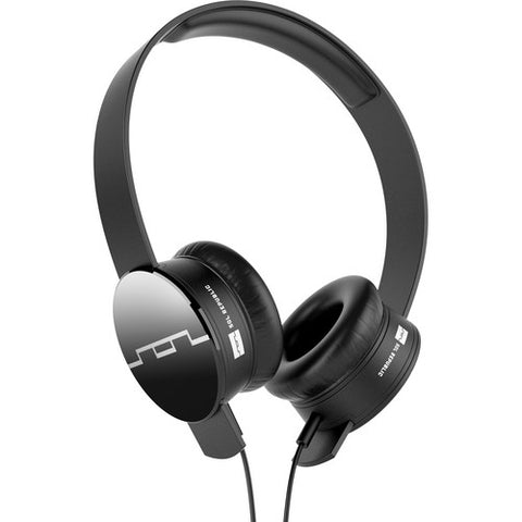 SOL REPUBLIC Tracks On-Ear Interchangeable Headphones For iphone Black