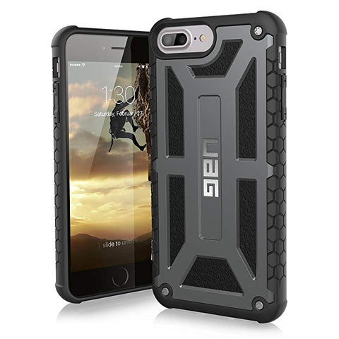 UAG iPhone 8 Plus/iPhone 7 Plus/iPhone 6s Plus [5.5-inch Screen] MONARCH Feather-Light Rugged - Graphite