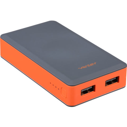 Ventev Innovations powercell 6000 mAH Battery Charger (Gray, Orange)