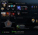 Legend I | MMR: 3160 - Behavior: 10000