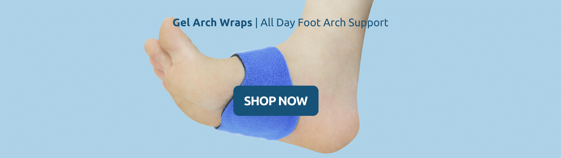 Buy Gel Arch Wraps All Day Foot Arch Support