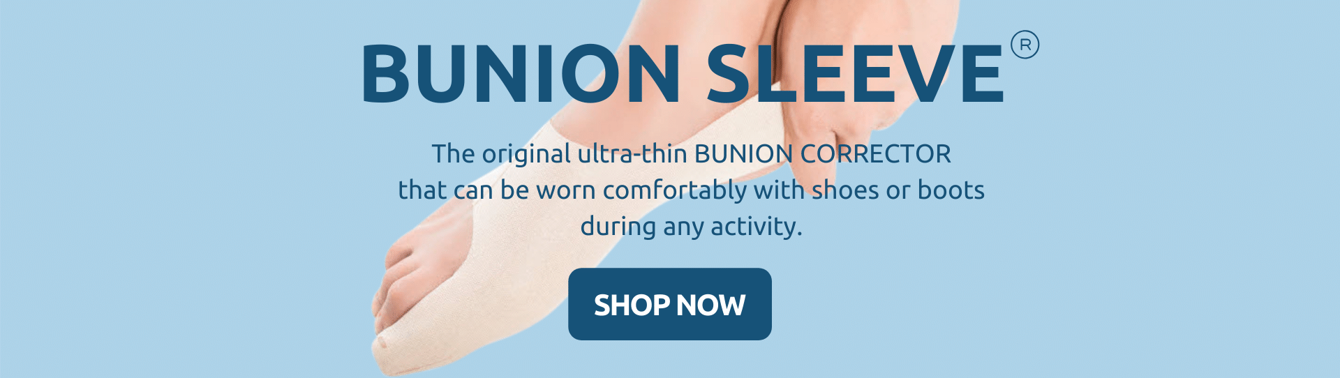 By Bunion Sleeve Bunion Corrector