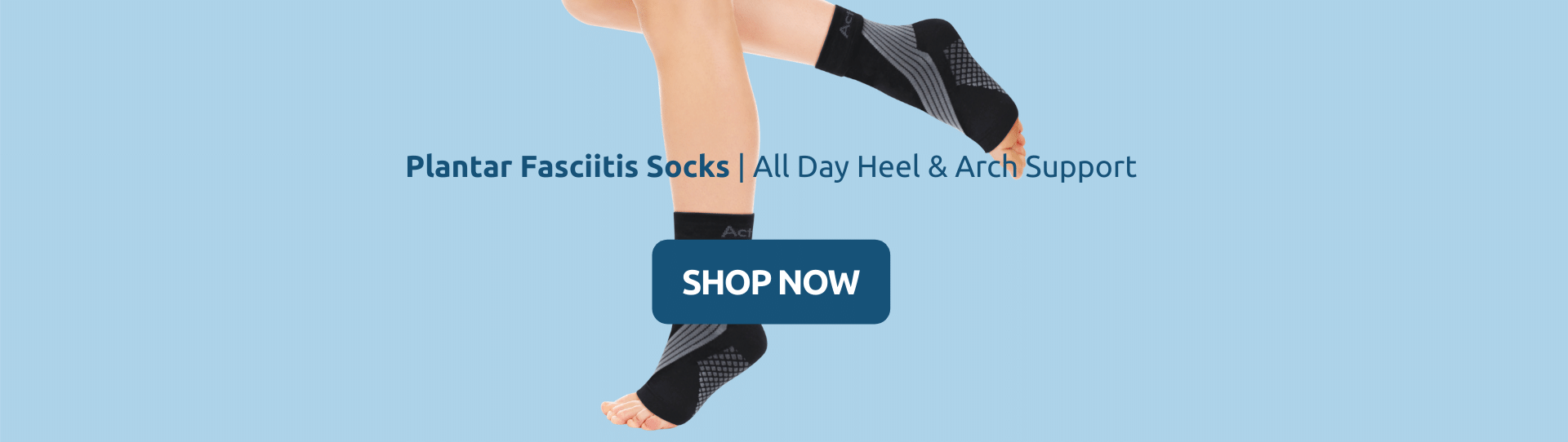 Buy Plantar Fasciitis Socks | All Day Heel & Arch Support