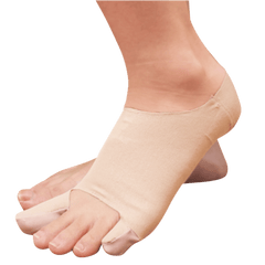 bunion sleeve plus being worn on left foot