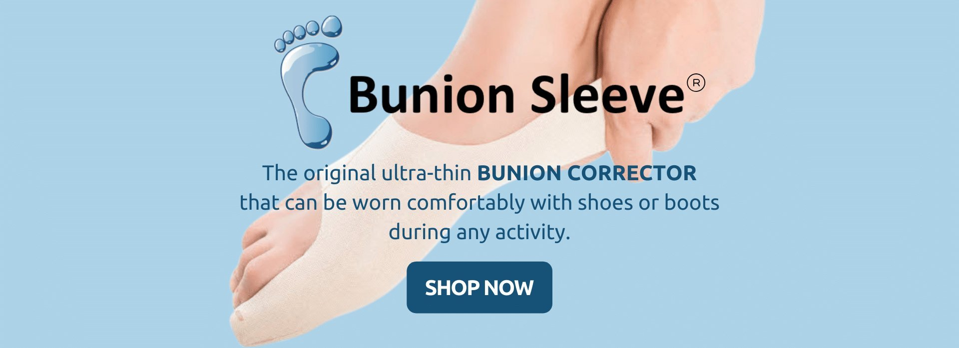 buy bunion sleeve the original ultra thin bunion corrector