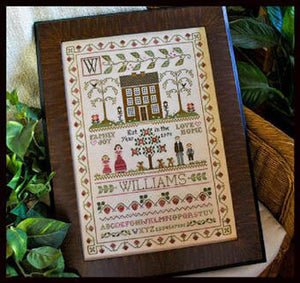 The Family Sampler Cross Stitch Pattern
