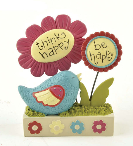 Ruffle your Feathers - Think Happy Be Happy