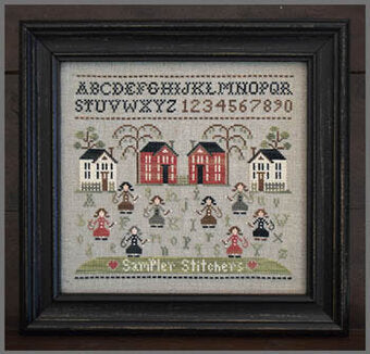 Sampler Stitches Cross Stitch Pattern