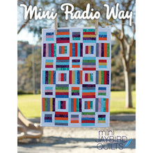 Load image into Gallery viewer, Mini Radio Way Quilt Pattern