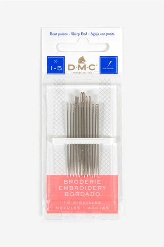 DMC Embroidery Needles 1-5