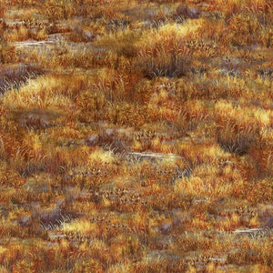 Grass Rust Fabric