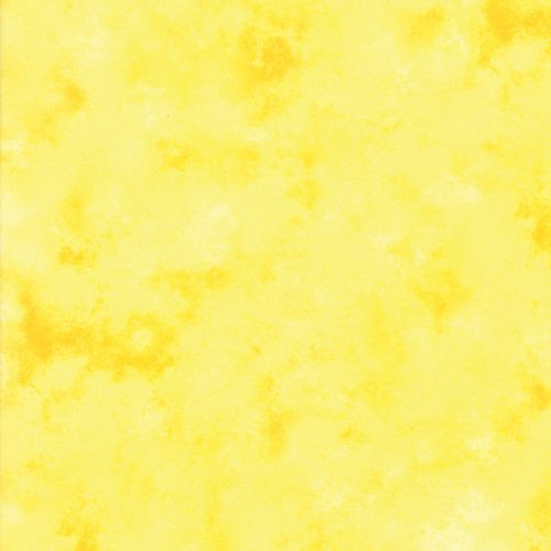 Cloudy Texture - Yellow Fabric