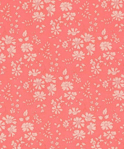Liberty Pink Flower Fabric