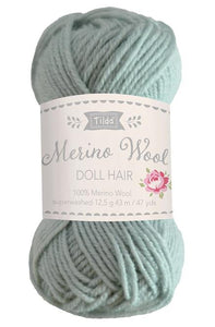 Tilda Doll Yarn For Hair - Sage
