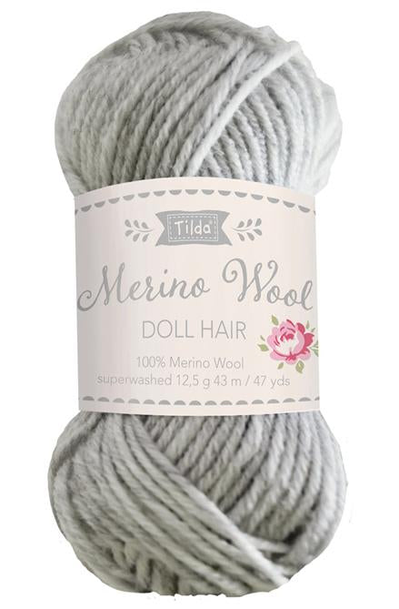 Tilda Doll Yarn For Hair - Fog