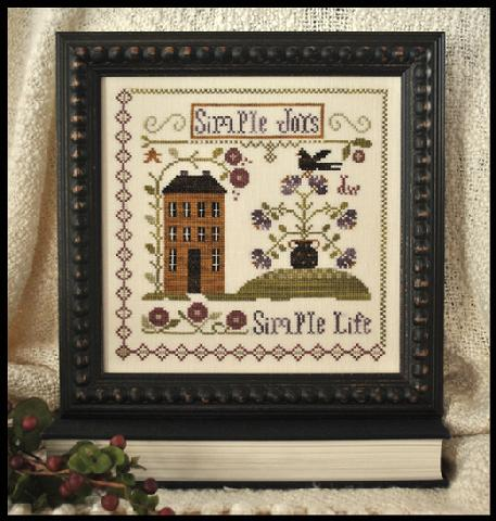 Simple Joys Cross Stitch Pattern