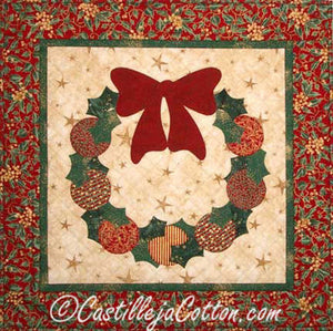 Bow & Wreath Quilt Pattern