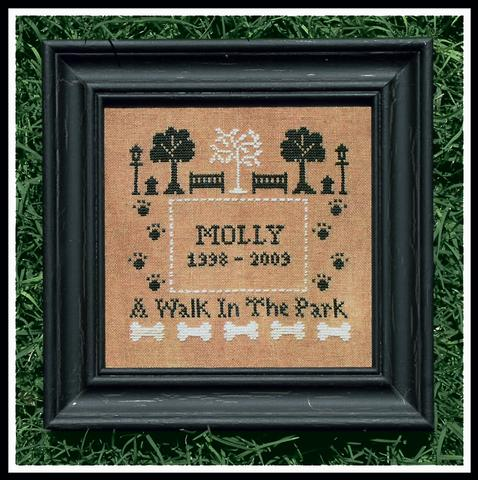 A Walk In The Park Cross Stitch Pattern
