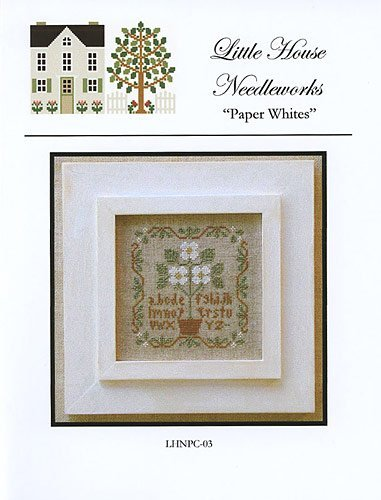 Paper Whites Cross Stitch Pattern