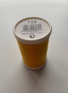 Quilting Cotton Thread Yellow 725