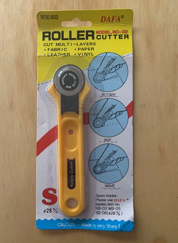 Roller Fabric Cutter 28mm