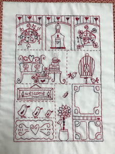 The Porch Stitchery Pattern