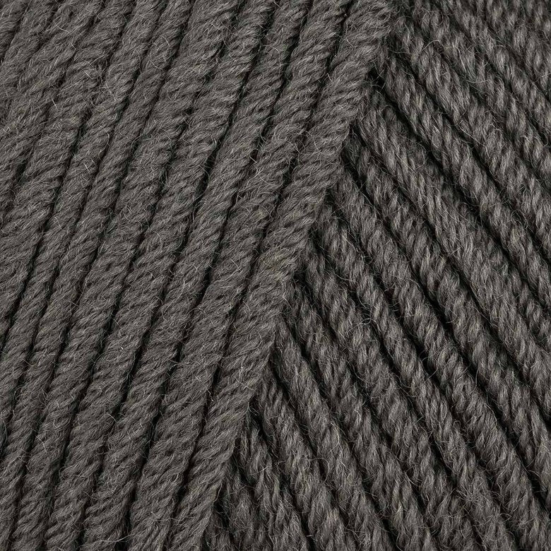Woolly 5  Merino Dark Grey 10 PLY