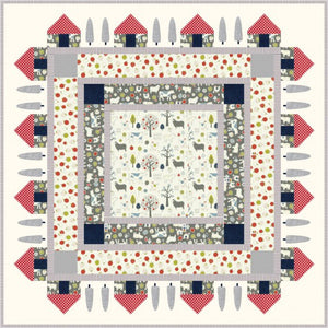 Country Meadow Quilt Pattern