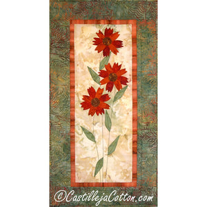 Blanket Flower Quilt Pattern