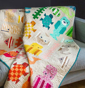 Awesome Ocean Quilt Pattern
