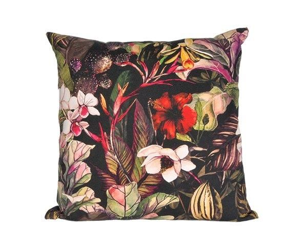 Midnight Tropics Cushion