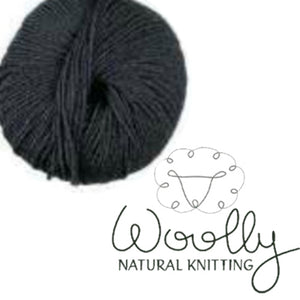 Woolly Merino Dark Grey