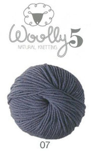 Woolly 5 Merino Steel Blue
