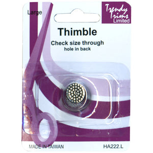 Metal Thimble Medium Size