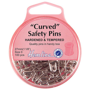 Curved Safety Pins
