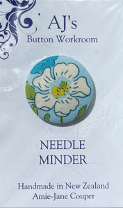 Needle Minder White Flower