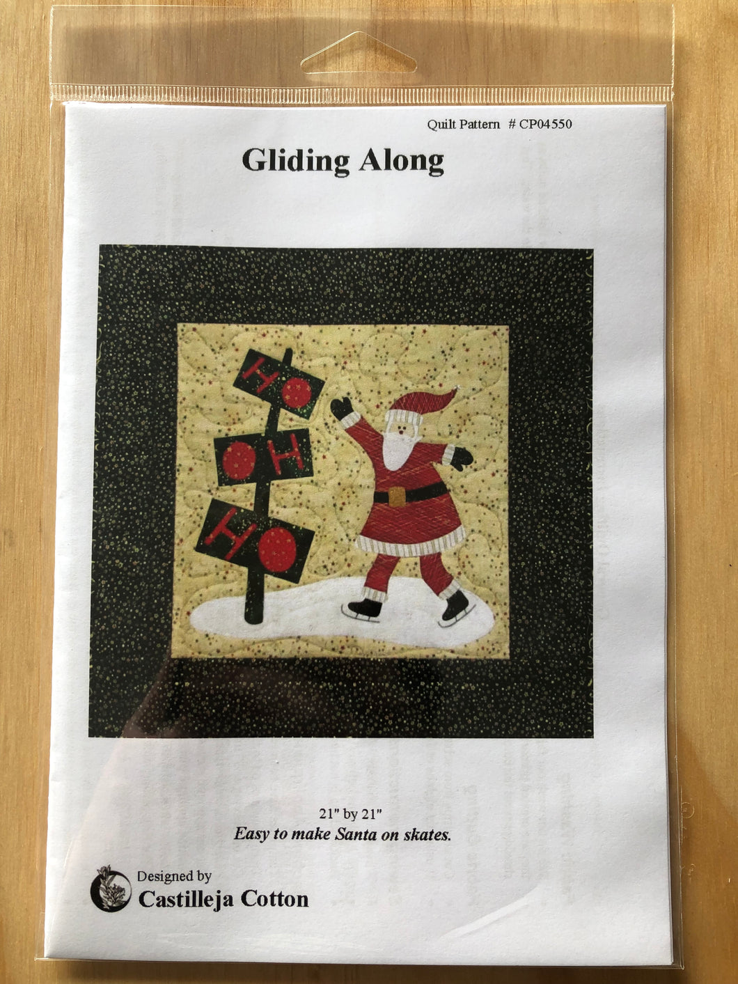Gliding Along Quilt Pattern