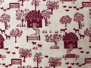 Liberty Cottage Lane X Fabric