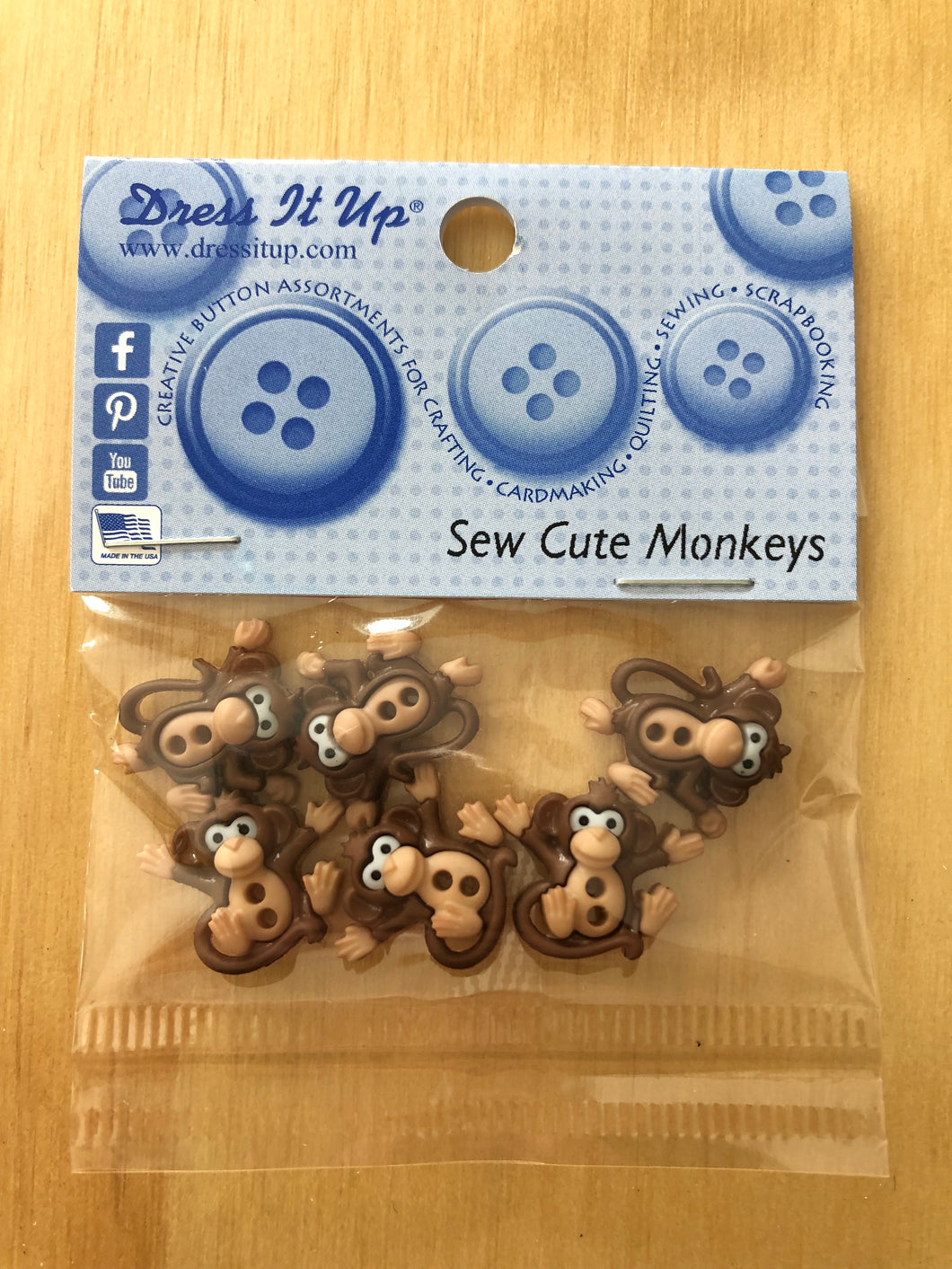 Sew Cute Monkeys