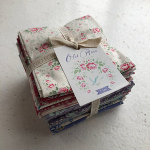 Tilda Old Rose Fat Eight Bundle - 20 Fabrics